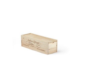 Single Bottle Wooden Box
